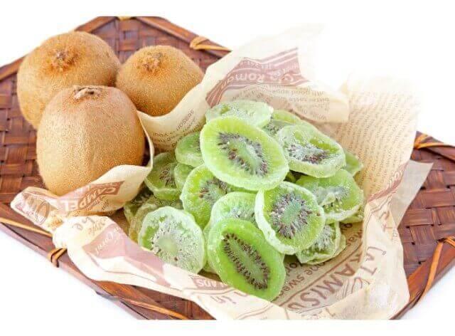 キウイのドライフルーツの作り方