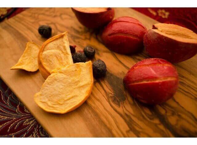 オーガニックのドライフルーツの作り方