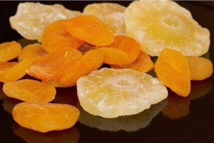 フルーツ別ドライフルーツの栄養比較